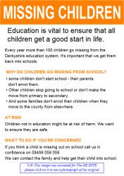 Derbyshire Missing Children
